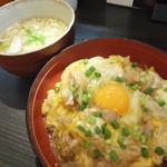 麺処 秀 - 親子丼セット