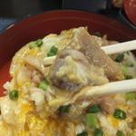 麺処 秀 - 親子丼の鶏肉