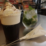 154283574 - エチオピアを贅沢に使ったコーヒーゼリー(680円)