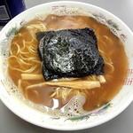 まるたかラーメン - 魚正油ラーメン_750円