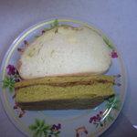 サンサンゴベーカリー マハロマハロ - マハロカレー・ダブルチーズパン
