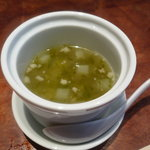 點 みやざわ - ☆スープは岩海苔ちゃんといろんなお野菜です☆