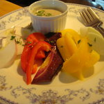 1543941 - 彩り野菜のバーニャカウダ