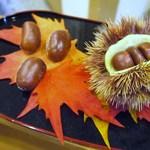 讃岐麺処 か川 - ディスプレイです♪秋~♪