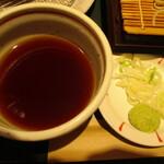 国産二八蕎麦 蕎香 - 品のいいお味のつゆ。