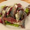 オステリア コマチーナ - 料理写真:鰺のサラダ 鰺がこれでもか~というくらい入ってます