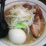 G麺 ふじもり  御殿場駅前店 - ラーメン極小¥680  +味玉¥100