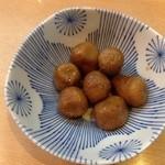 味処 庄屋 - 芋煮。福井の郷土料理です。