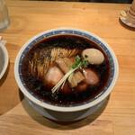 中華そば いしかわや - 煮干ブラック800円