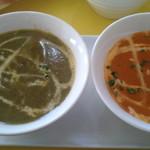 パビタラ - ほうれん草チキンとエビカレー