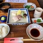 Danrandokoroichi - 日替わり(甘鯛の酒蒸し)定食