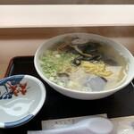 道の駅 てしお レストラン - 料理写真:シジミ潮ラーメン