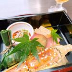 京料理 卯柳 - 前菜 彩7種盛り合わせ