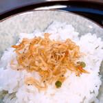 京料理 卯柳 - 食事 伏見米