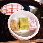 京料理 卯柳 - わらびもち