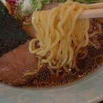 そば処 神田 - 自信作と店がハッキリ掲げるメニュー注文☆澄みきったスープ!!こだわりの麺!!そば屋が作ったラーメン ¥715
