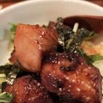 麺屋 ほぃ - 肉肉しくて美味しかった〜
