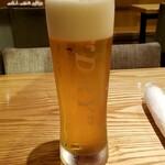 餃子食堂 つるかめ - 生ビール:550円+税