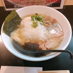 麺や勝治 - 青唐辛痛麺(850円)