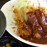 とんかつ ひろ喜 - 【再訪】特選ロース豚カツ定食760円