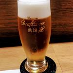 154334315 - まずは冷えたビール