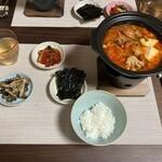 MOKCHA - 料理写真:メイン キムチチゲスープ