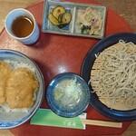 千喜庵~手打ち蕎麦~ - 料理写真:たれかつ丼定食