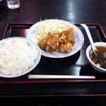 15434014 - 唐揚げ定食