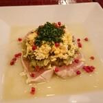 レトノ - 鶏胸肉のカルパッチョ