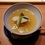 Fujisawa - 蓮根饅頭(海老としゃり入り)、のどくろ