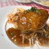 大衆ビストロ原田屋 - 料理写真:手ごねハンバーグ