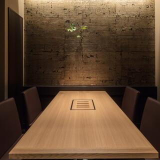 「全席完全個室」約3分半で空気が入れ替わる仕様で安心です