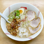 らーめん弥七 - 醤油ちゃーしゅー麺