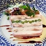 15436138 - 秋刀魚のコンフィと里芋のテリーヌ