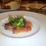 ALBA - 本日鮮魚のカルパッチョ