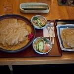 15436396 - 和食処 するが蕎 メガかつ皿
