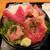 みやもと - 2021年4月 本まぐろざんまい丼(本日の日替わり) 1650円