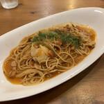 カフェ・ラ・カフェ - 料理写真:ナポリタンスパゲッティ