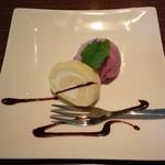 cafe GARDEN - パスタランチのセット(ミニデザート)