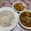 行徳ビリヤーニーハウス - 料理写真:チキンとカブ