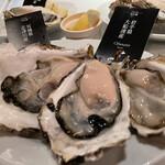 ガンボ&オイスターバー - 本日のお勧め生牡蠣