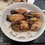 ガンボ&オイスターバー - 牡蠣の煮付けご飯