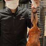 154388505 - 北京ダックと廣澤シェフ