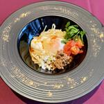 ル シノワ サノ イズミ - 紅い汁なし担々麺