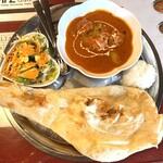 インドレストラン スルターン - 料理写真:日替りカリー(バターチキンカリー)