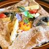 ル・ぺパン - 料理写真:ホワイトアスパラガスとブルーチーズのコンプレットガレット