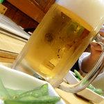 美たか庵 - 料理写真:生ビール