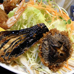 美たか庵 - 海老フライ定食