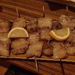 ダルマ - 豚バラの串焼き(450円)