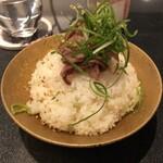 Japanese Soba Noodles 蔦 - A5黒毛和牛わさびご飯